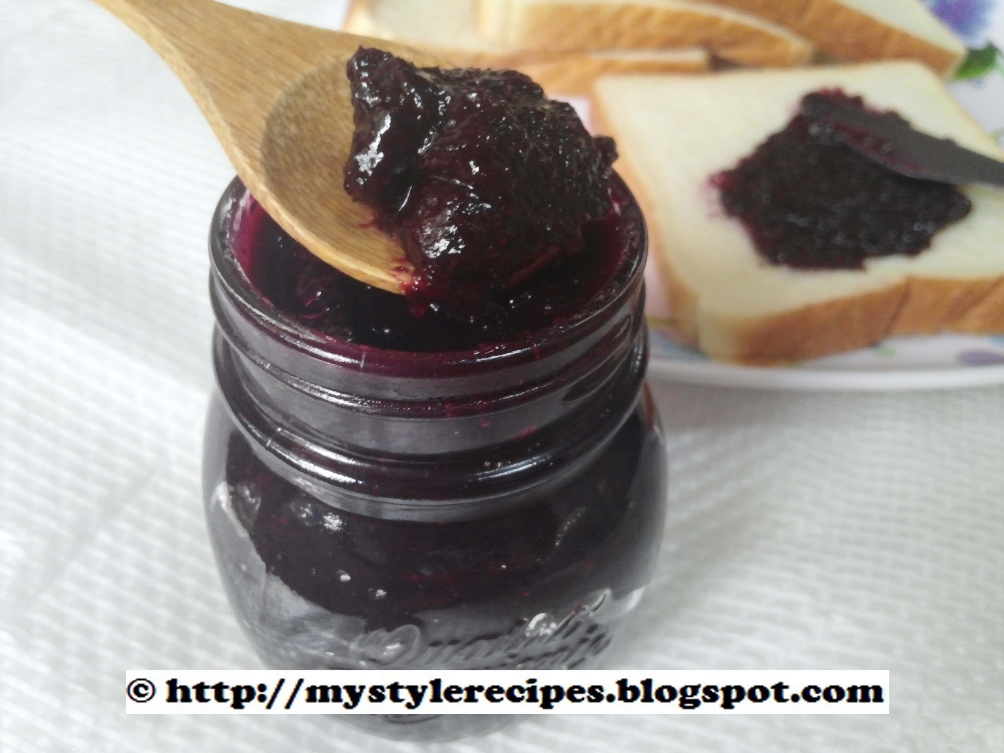 Strawberries and Blueberries Jam | Berries Jam