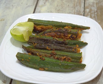 Stuffed Lady's Finger | Bharwan Bhindi | Stuffed Okra