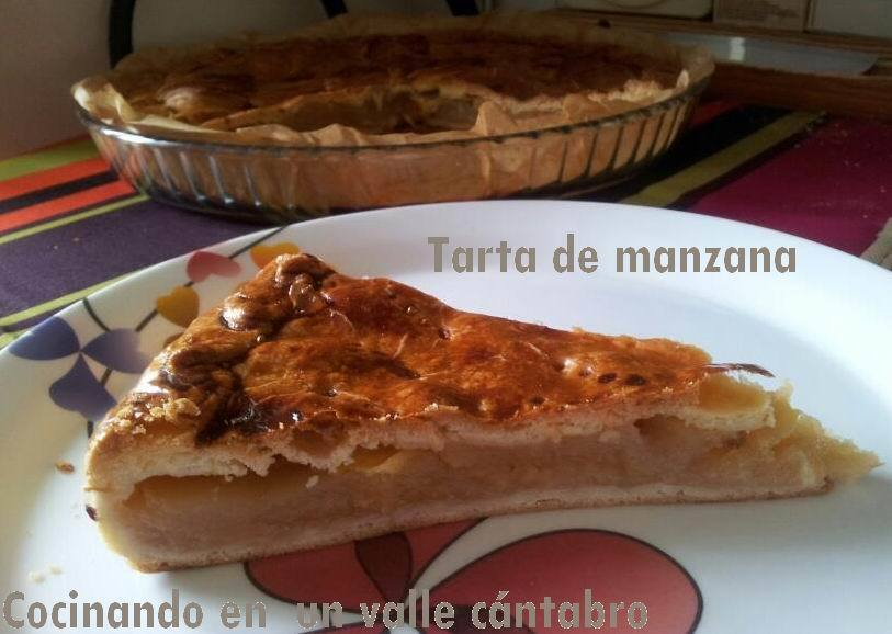 Tarta de manzana americana (all-american apple pie)
