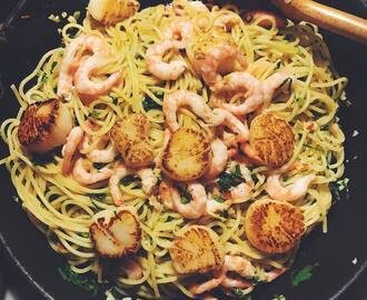 "Siri Barje on Instagram: ""THIS PASTA WAS AMAZING. And very easy. here is my recipe for two people: . 300 g of spaghetti 6 garlic cloves, chopped 1/2 red chili,…"""