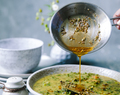 Mung Bean and Kale Daal