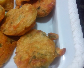 Methi pakoda,How to make methi pakora