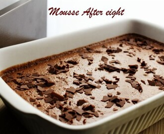 Mousse after eight  ♥♥♥