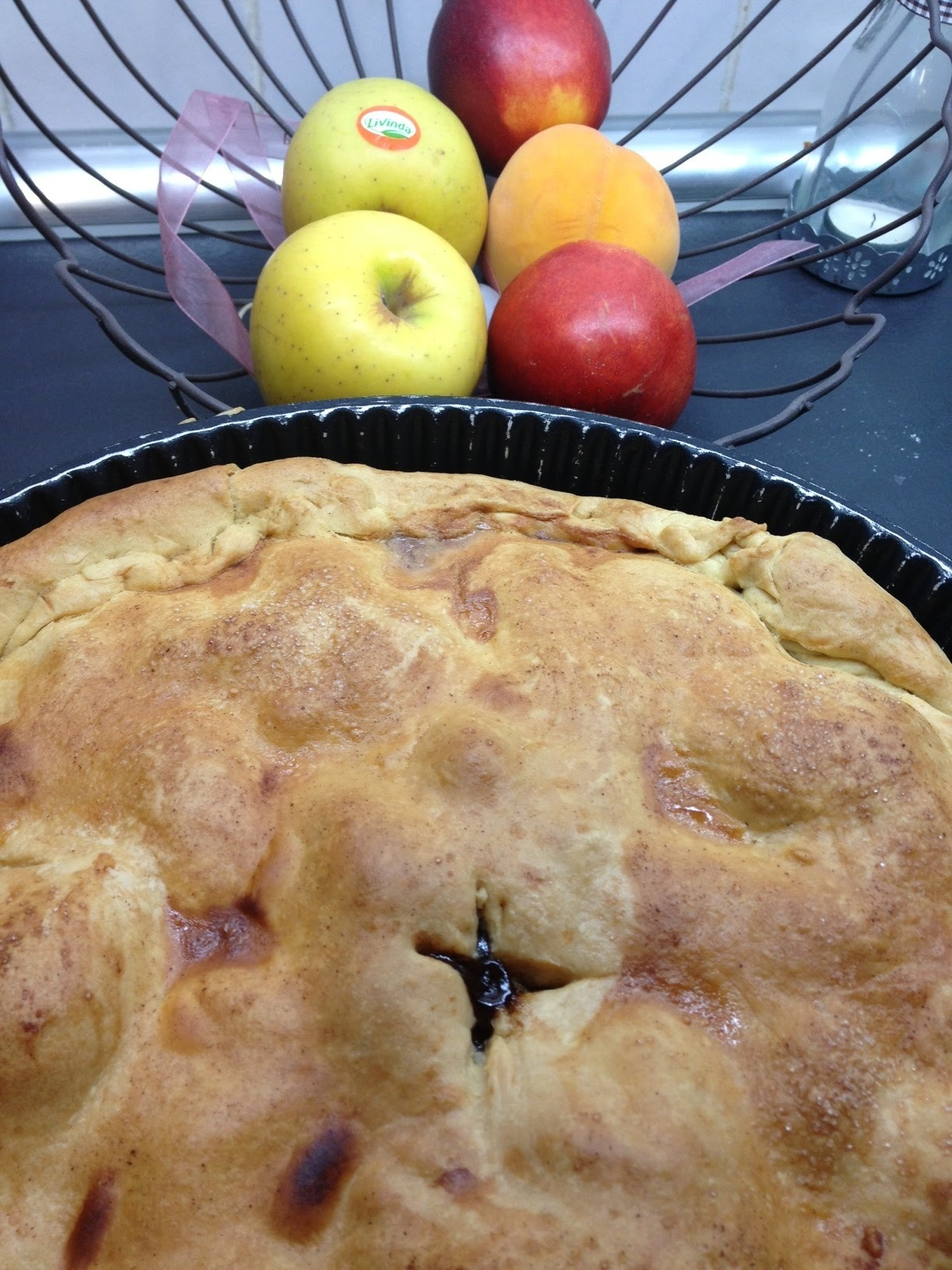 July 4th , apple pie (tarta de manzana americana)