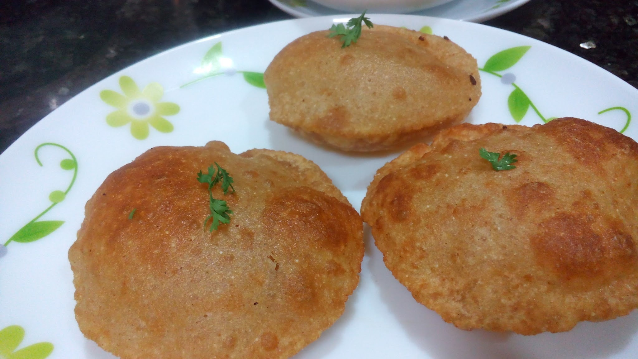 Bread poori recipe