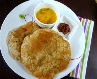 Dhalbhari Puris | How to make Dal Poori