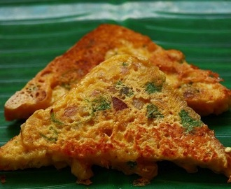 Besan toast recipe / how to make bread besan toast