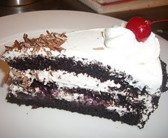 Black Forest Cake (Delicious German cake famous in India)