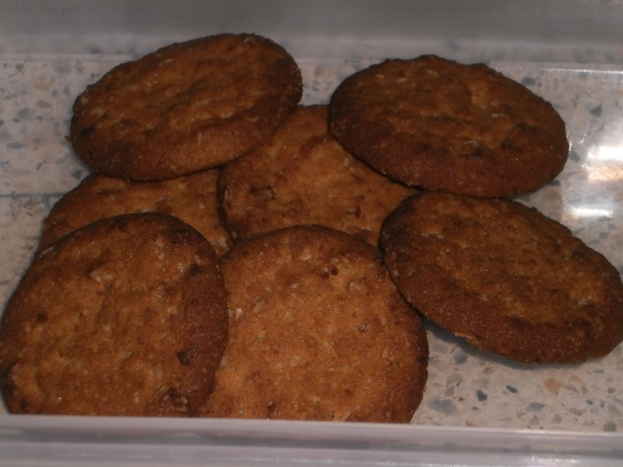 Oat meal cookies ( rich in fibre)
