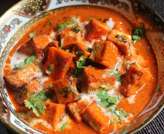 Tofu Makhani Recipe - Tofu Butter Masala Recipe