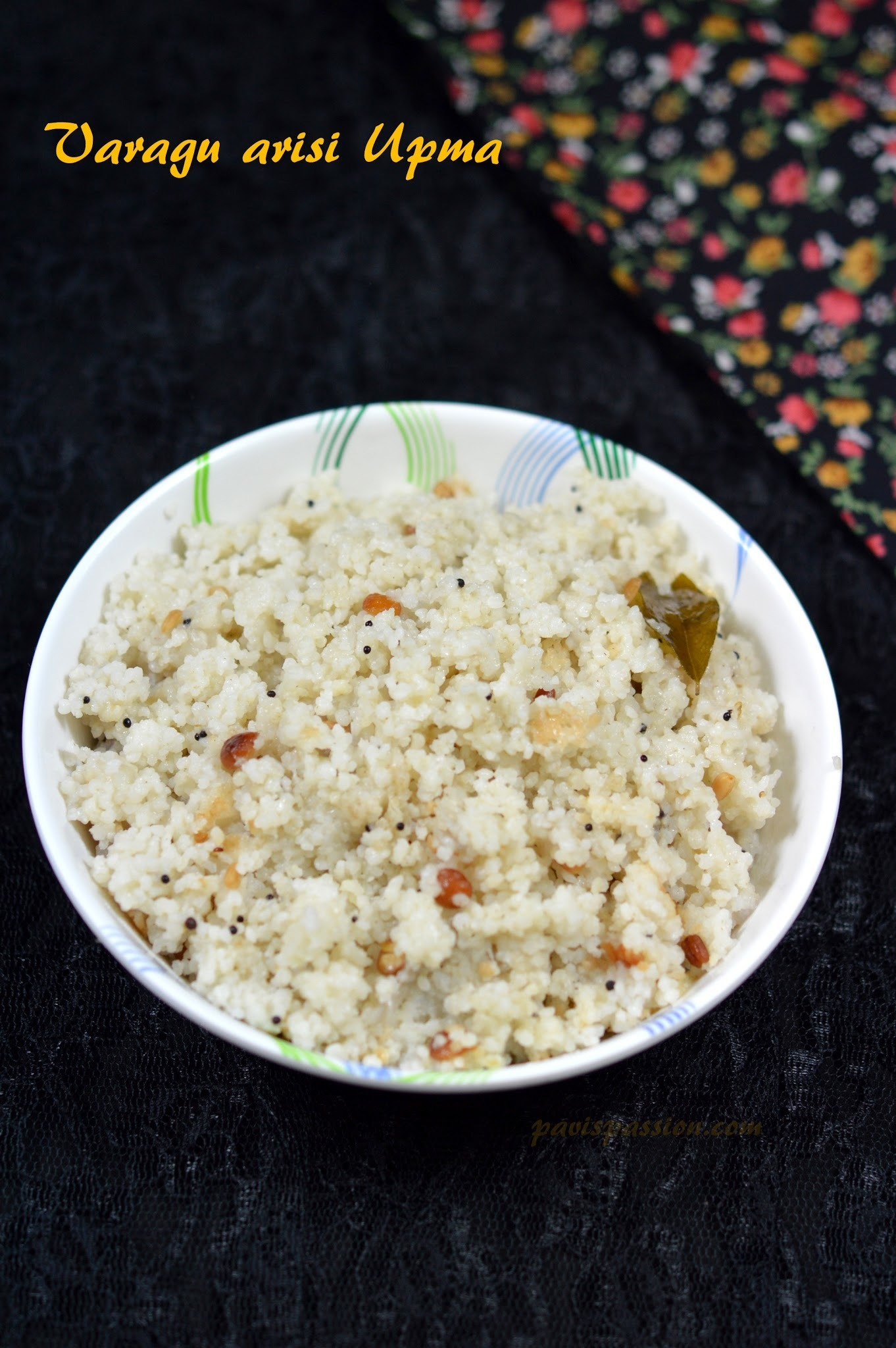 Varagu arisi Upma | Kodo Millet Upma | Easy Breakfast Recipe | Weight loss Recipe