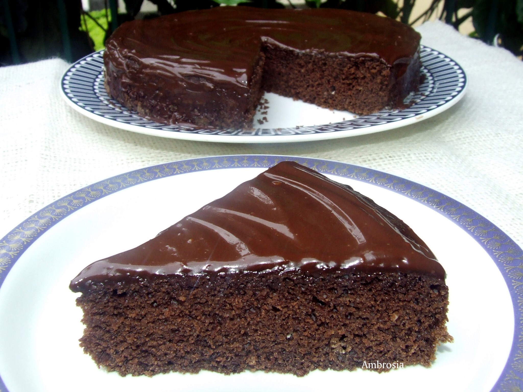 Wacky Chocolate Cake (Egg less)
