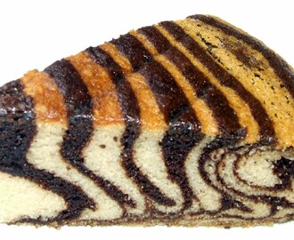 ZEBRA CAKE - TWO WAY (With Eggs and Egg less)