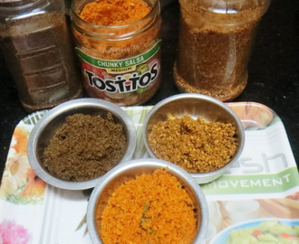 Flax Seeds , Ground Nuts & Dry Coconut Chutney Powders.