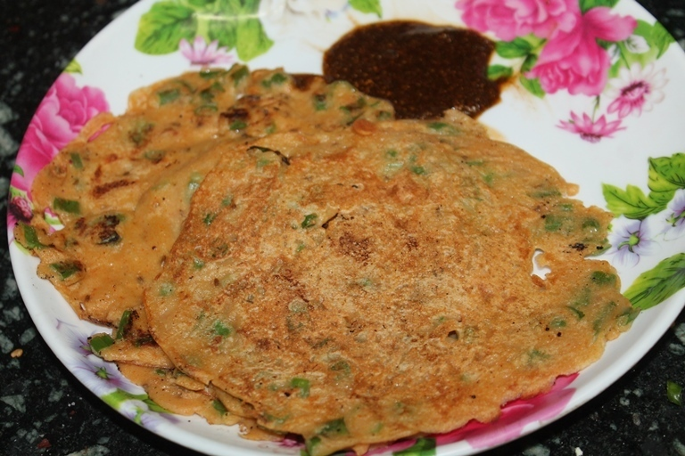Instant Wheat Adai Dosa Recipe - No Grind Quick Adai Dosa Recipe