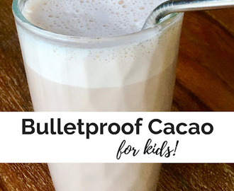 Bulletproof Cacao for hangry kids
