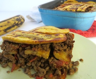RECEPT: ovenschotel met bakbanaan en gehakt (pastelon) - This Girl Can Cook