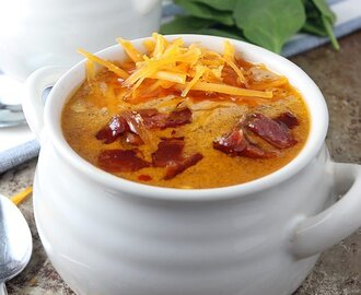 Bacon Cheeseburger Soup