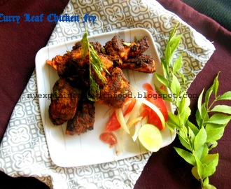 Kerala Style Curry Leaf Fried Chicken