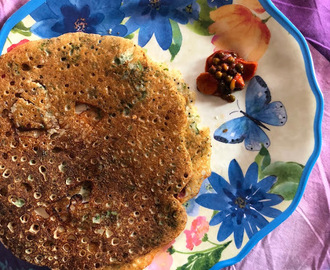 Instant Multigrain Dosa for #Breadbakers