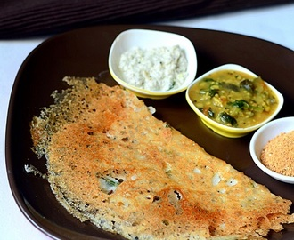 Rava Dosa Recipe(Instant Version)-South Indian Breakfast Recipes