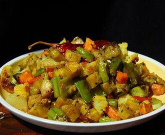 Labra: Mixed Vegetable Curry