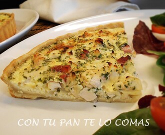 QUICHE DE POLLO (LIGHT)