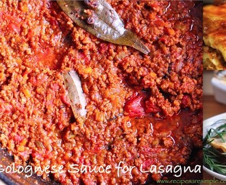 How to make Bolognese Sauce  ( step-by-step guide with .gifs)