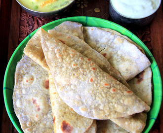 Avocado Paratha - Avocado Chapathi - Healthy one pot meal - Dinner or breakfast recipe