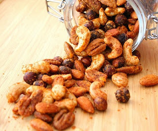 Buffalo Spiced Cocktail Nuts (Low Carb and Gluten Free)