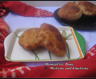 Mangalore Buns / Banana Puris / Leftover Banana Recipe