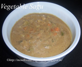 Vegetable Sagu Recipe -- How to make Vegetable Sagu Recipe