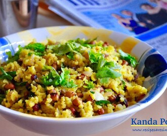 Kanda Poha|Quick Indian Breakfast with Pressed Rice