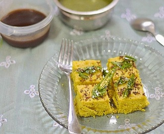 Millet (kuthiraivali) dhokla recipe - Easy snack recipe