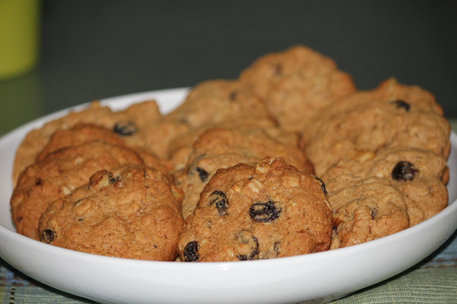 Oatmeal Raisin cookies with a twist