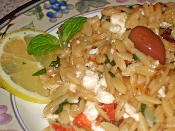 Linda's Rice And/Or Orzo Pilaf Greek Style