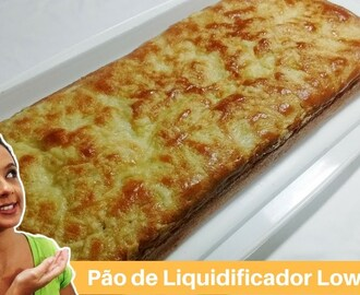 Pão low carb de liquidificador l Receitas Low Carb
