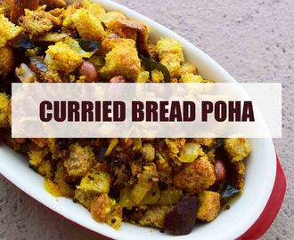 Meatless Monday – Curried Bread Poha