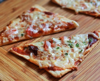 Bread Pizza Recipe, Veg Bread Pizza