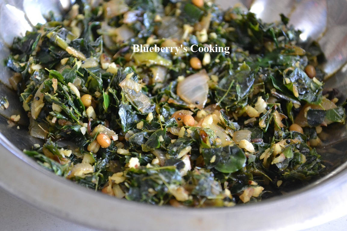 Murungai keerai curry / Drumstick leaves curry