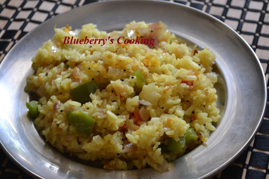 Easy and tasty Aval Upma / Poha upma
