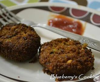 Vegetable Cutlet - Healthy Evening Snack!