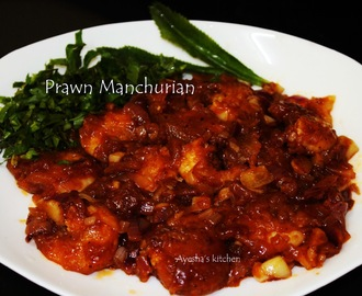 SHRIMP RECIPES - PRAWN MANCHURIAN RECIPE