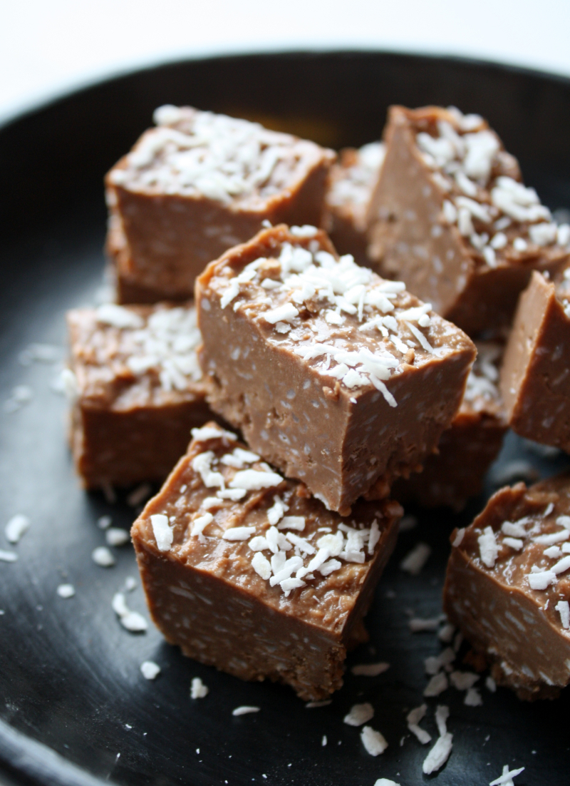 Sukkerfri bounty fudge