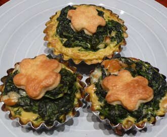 Mini Quiche agli Spinaci (Mini Spinach Quiche)