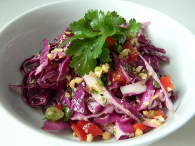 Asian Cabbage Salad….