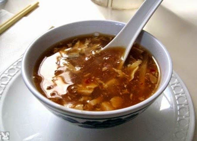 Chicken hot and sour soup recipe