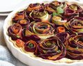 Vegetable Rose Tart