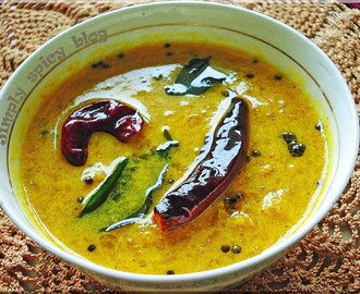 Manthanga/ Pumpkin Curry