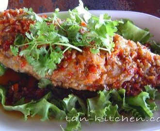 Fried Fish With Tamarind Sauce (Pla Rad Prik)